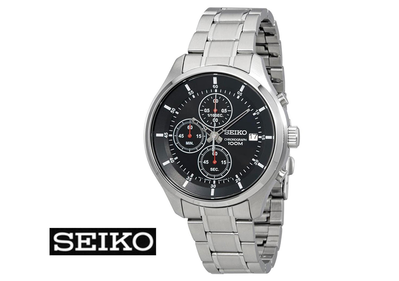 selezione migliore bb201 55132 SEIKO - cronografo in acciaio - NeoSport - Les Cadeaux Gioielli
